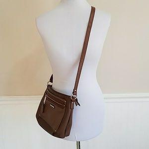 Dana Buchman Brown Crossbody Bag